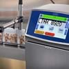 Linx 8900 marking cereal bar packaging on the production line