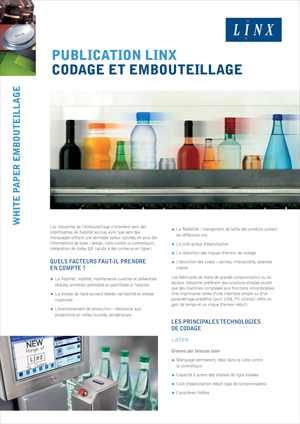 Publication Embouteillage