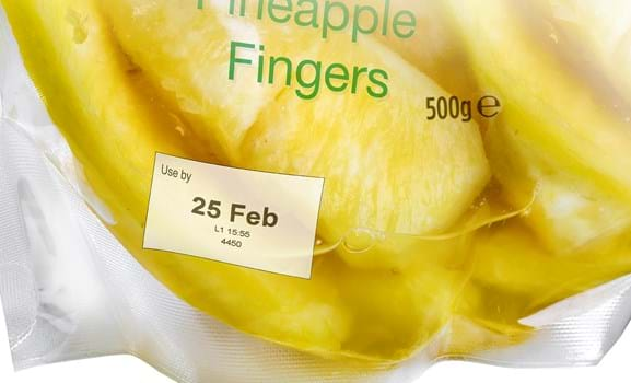Use By Date Printing Food